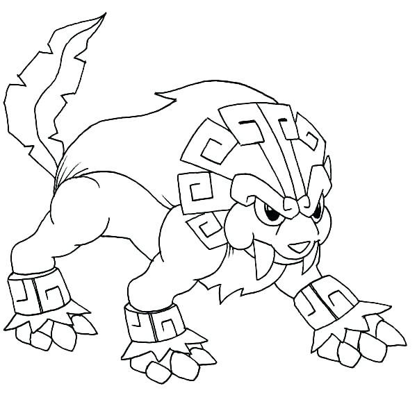 600x569 Pokemon Sun And Moon Coloring Pages Sun And Moon Free Coloring