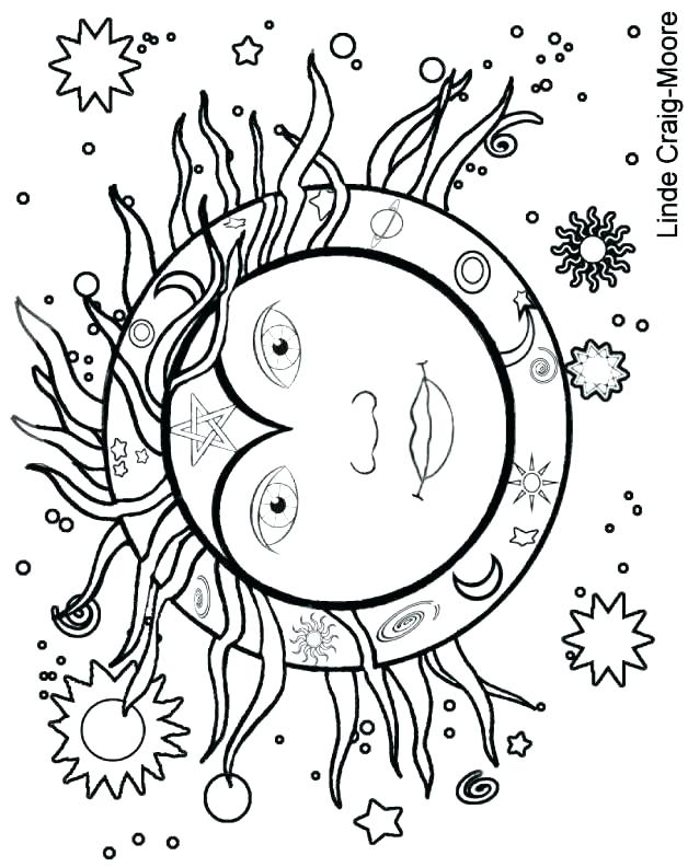 628x792 Sun And Moon Coloring Pages Explore Sun Moon Sun And Moon Mandala