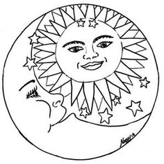 236x236 Hippie Coloring Pages