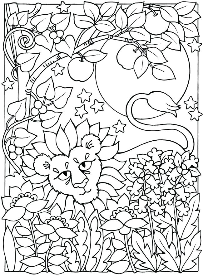 650x885 Sun And Moon Coloring Pages