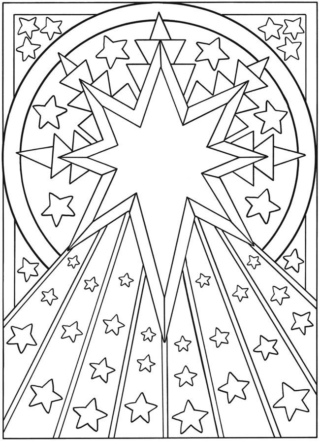 650x895 Best Sun Moon And Stars Coloring Images