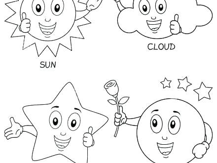 440x330 Stars Coloring Pages Luxury Moon And Stars Coloring Es Image Sun