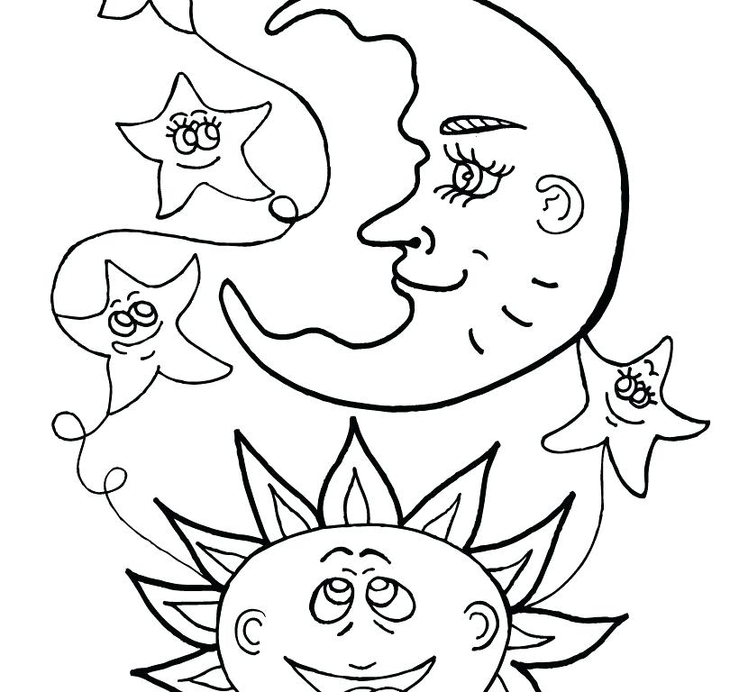 820x768 Sun Coloring Pages Kid Coloring Page S For Happy Smile Sun Sun