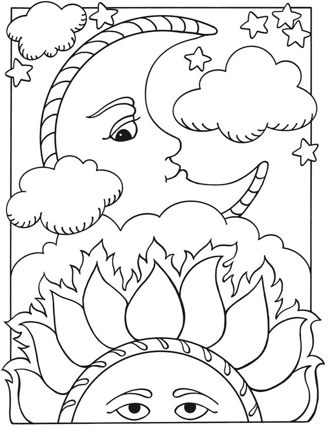 650x847 Welcome To Dover Publications Let's Color Together