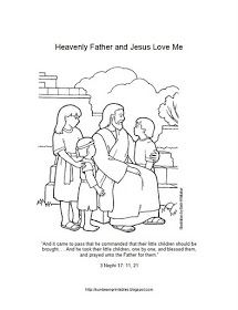215x280 Sunbeam Printables Coloring Page For Lesson Heavenly Father