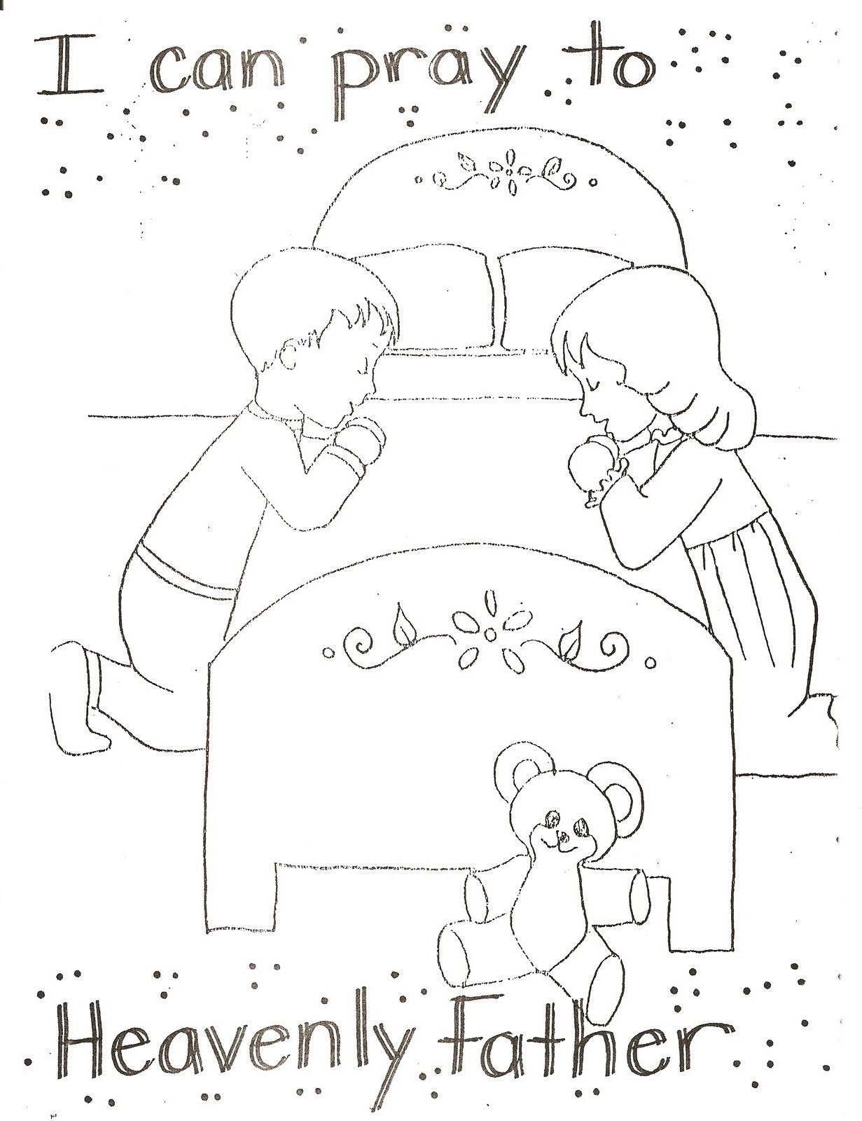 1231x1600 Delivered Lds Sunbeam Coloring Pages Primary Color Page Ideas