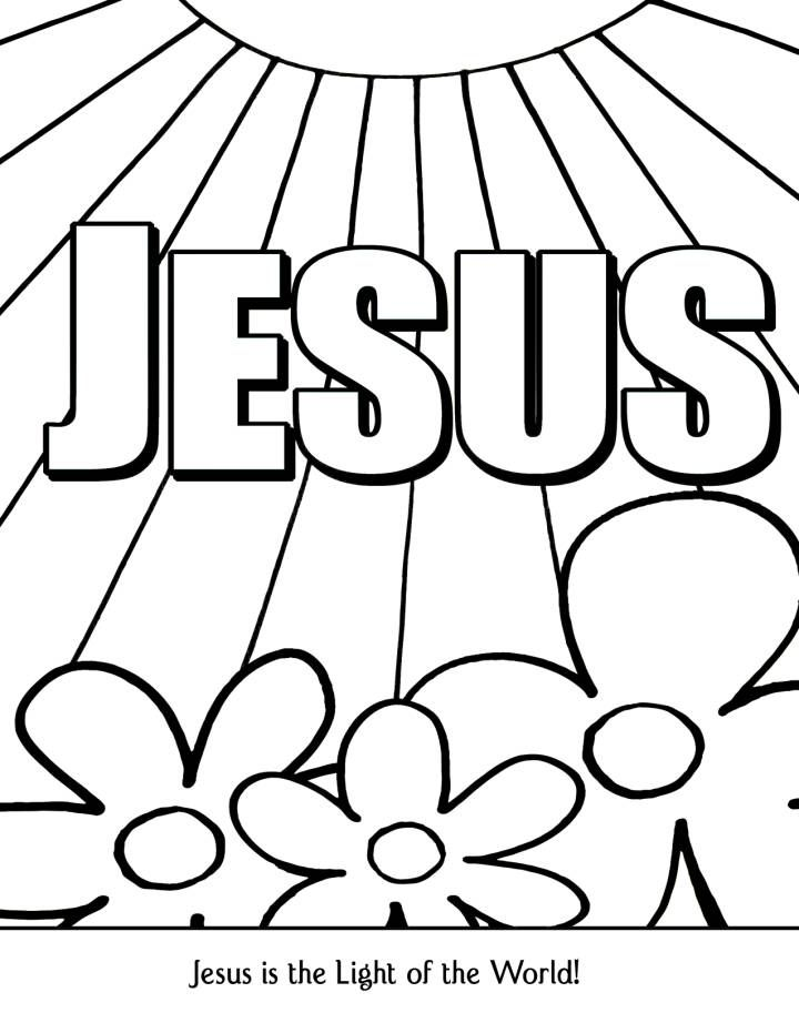 Sunday Coloring Pages