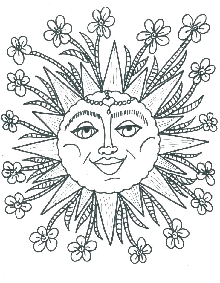 736x947 Sun Coloring Page Coloring Pages Of The Sun Sun Wearing Sunglasses
