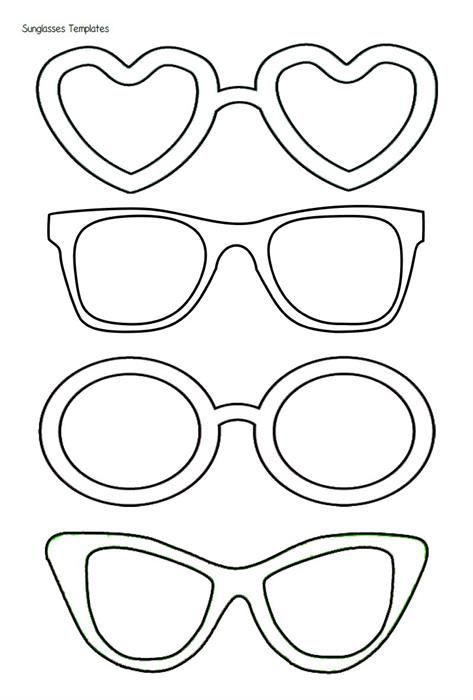 473x700 Sunglasses Coloring Pagespirational Summer Is Sweet