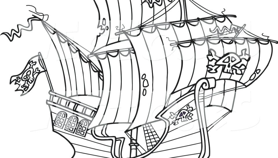 960x544 Pirate Ship Coloring Pages Coloring Pages Black Pearl Pirate