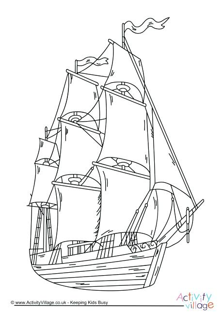 460x650 Pirate Ship Colouring Pirate Ship Coloring Pages Coloring Pages