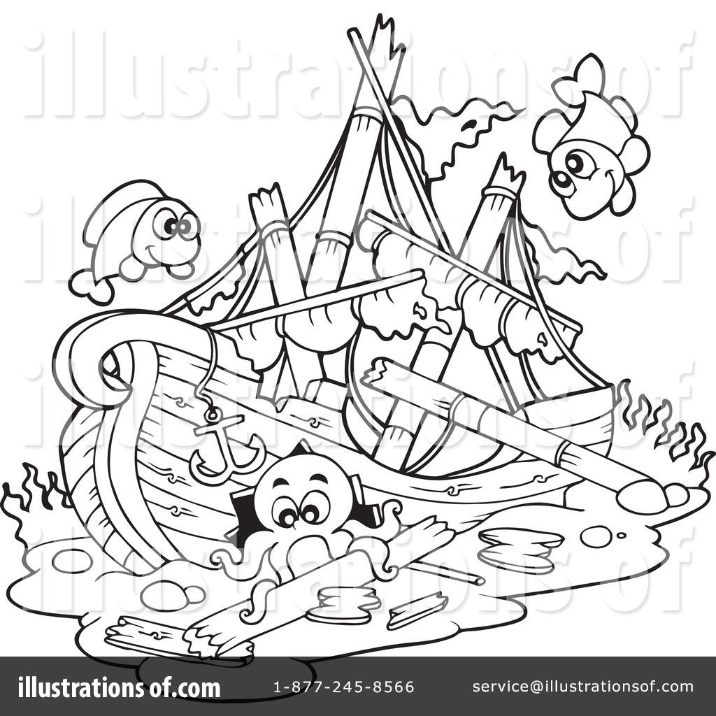 1024x1024 Shipwreck Clipart