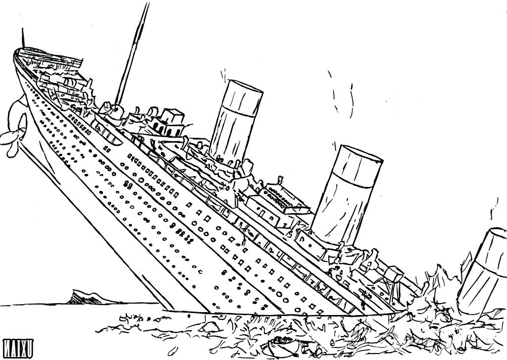 1024x728 Titanic Coloring Pages Printable Titanic Coloring Pages For Kids