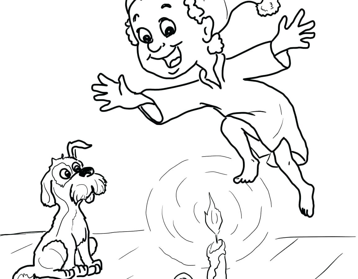 1154x900 Now Jack Be Nimble Coloring Page Mother Goose Sunny Day Pages