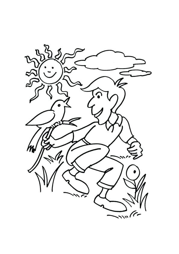 595x842 Sunny Day Coloring Pages Sunny Day Coloring Pages Sunny Day