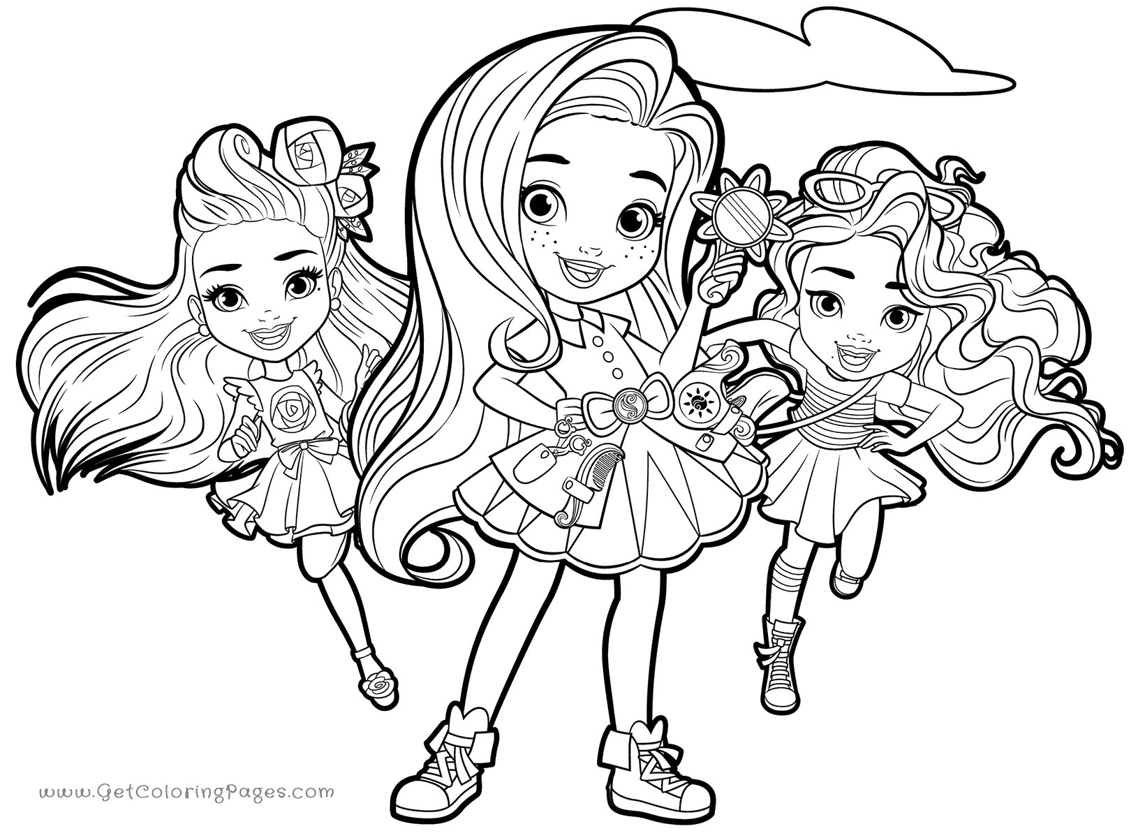 1640x1200 Sunny And Her Best Friends Coloring Pages