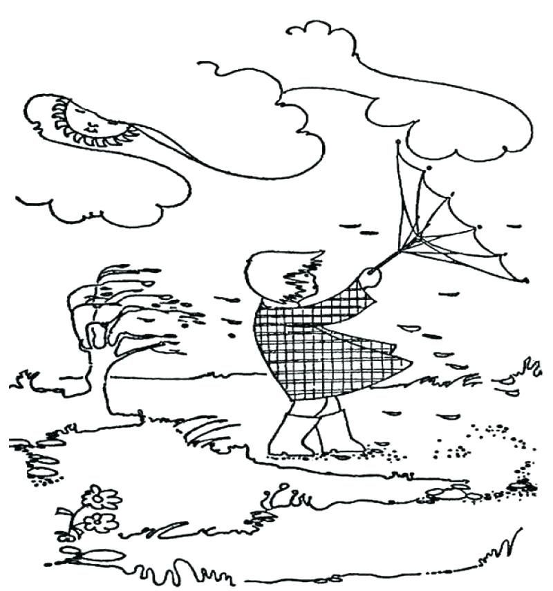 800x855 Windy Day Coloring Pages Click On The Coloring Page Or This Button