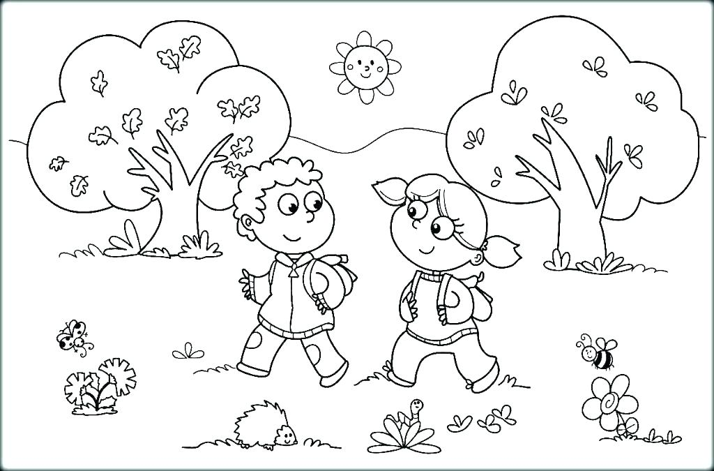 1024x675 Coloring Sunny Day Coloring Pages
