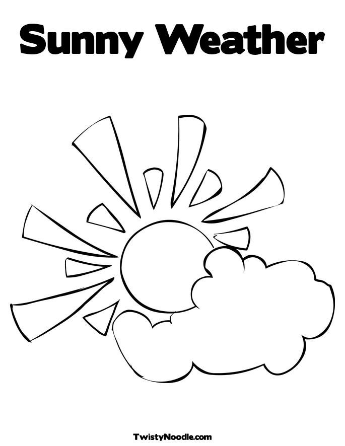 685x886 Weather Coloring Pages