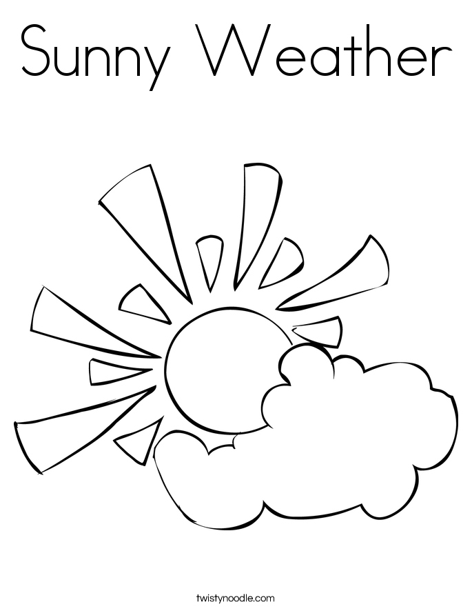 685x886 Weather Coloring Pages Elegant Sunny Weather Coloring Page Twisty
