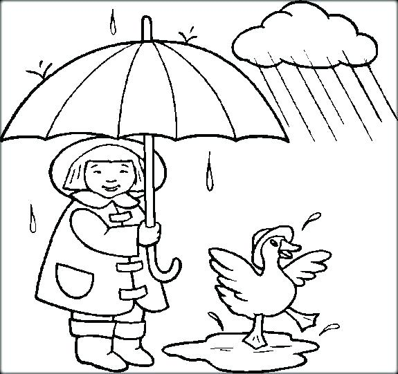 575x541 Coloring Pages Weather