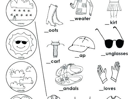 440x330 Coloring Pages Weather Weather Coloring Season Sunny Weather