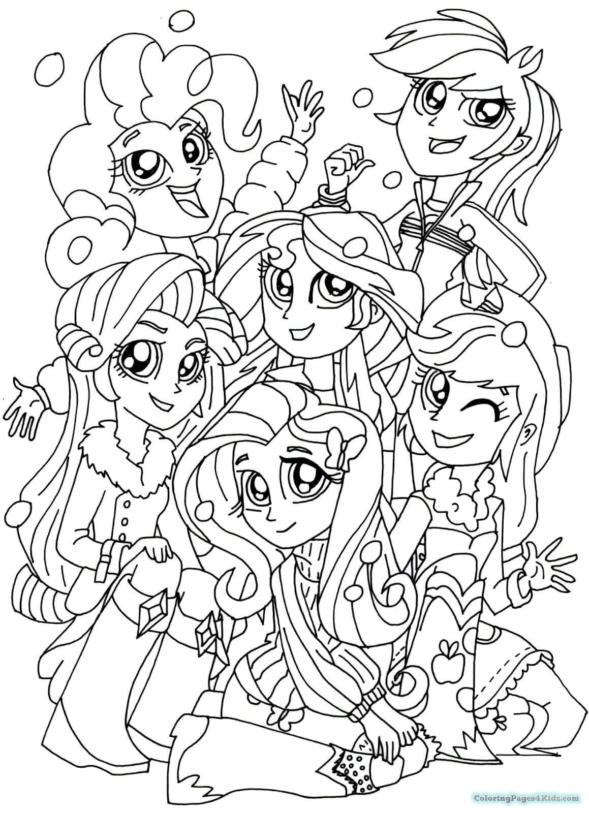 1159x1600 My Little Pony Equestria Girls Coloring Pages Sunset Shimmer