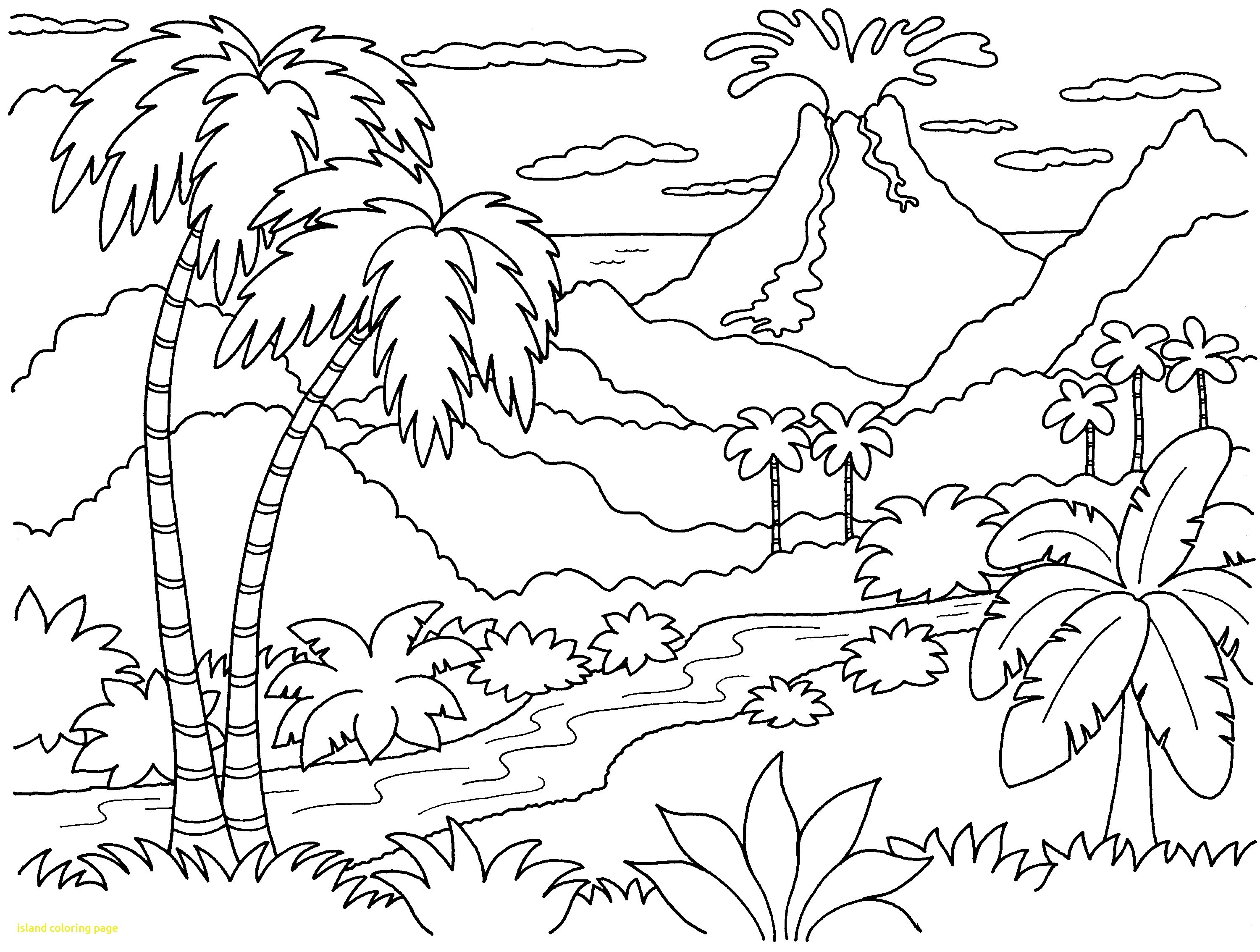 3000x2267 Sunset Coloring Pages For Adults