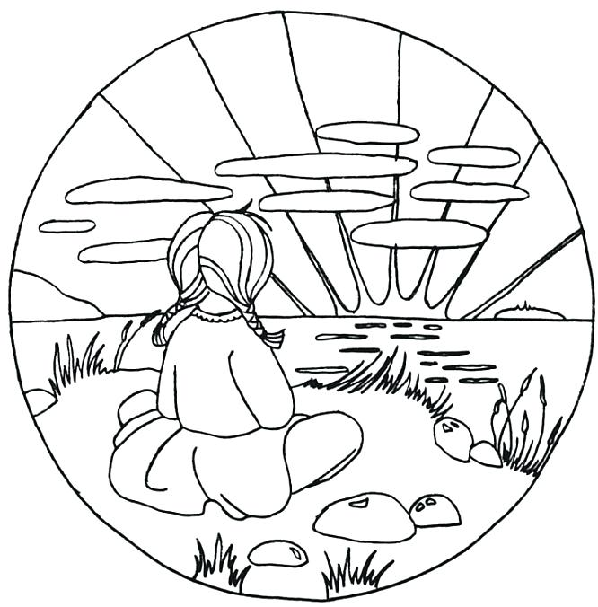 666x676 Sunset Coloring Pages Beach Coloring Pages Surfboard Sunset Sunset