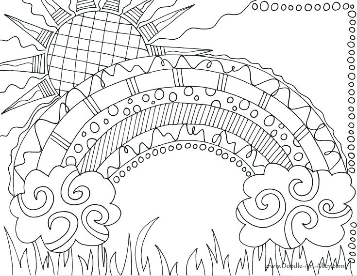 735x570 Sun Coloring Pages Sun Coloring Pages For Coloring Page Of Sun Sun