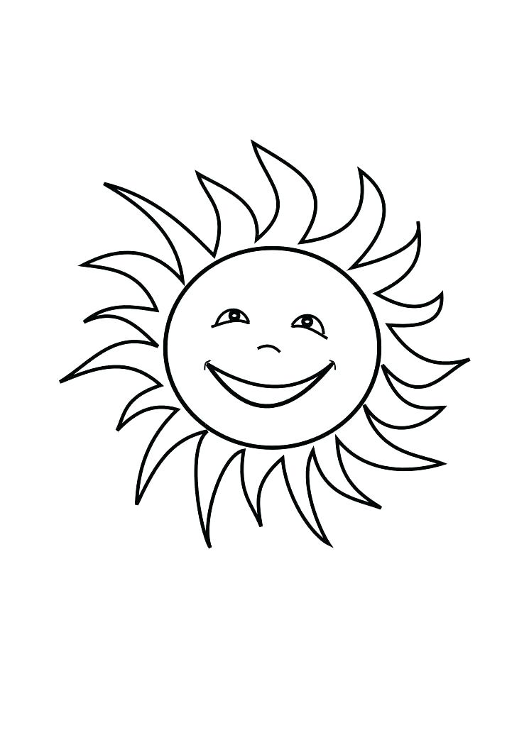 745x1053 Colouring Pages Sun Sun Coloring Page Sun Coloring Pages For Kids