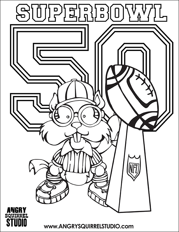612x792 Fancy Design Super Bowl Coloring Pages Superbowl Page Free