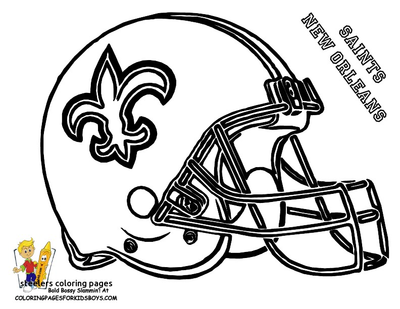792x612 Super Bowl Coloring Pages Free Printable