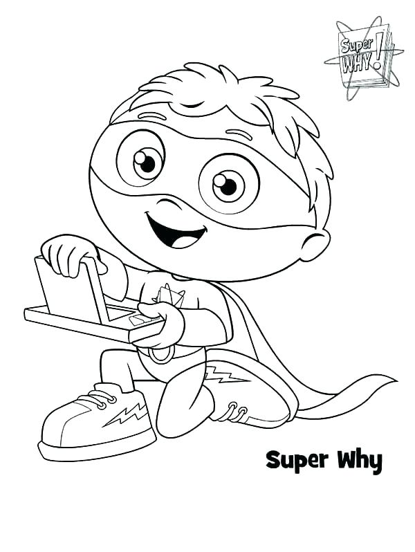 600x798 Super Bowl Coloring Pages Super Why Coloring Pages Super Why
