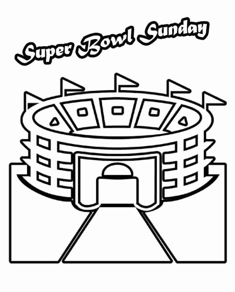 823x1024 Super Bowl Carolina Panthers Vs Denver Broncos Coloring Page