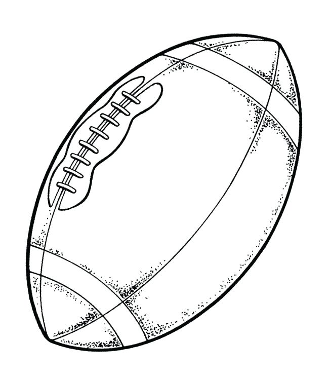 650x746 Superbowl Coloring Pages The Ball Of Super Bowl Coloring Pages