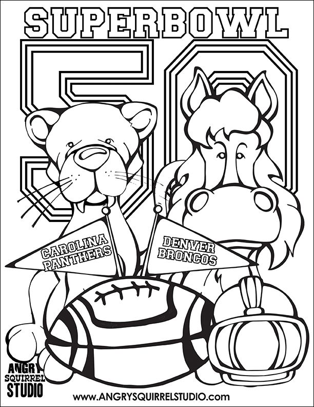 612x792 Free Superbowl Coloring Page! Get Out Those Crayons