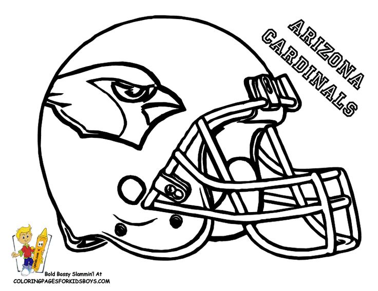 Super Bowl 51 Coloring Pages