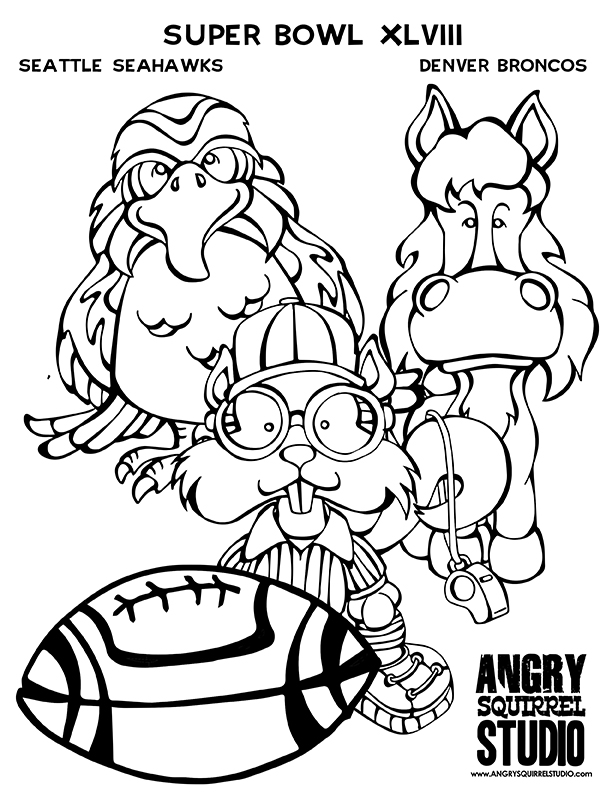 612x792 Denver Broncos Coloring Pages Add Photo Gallery Super Bowl