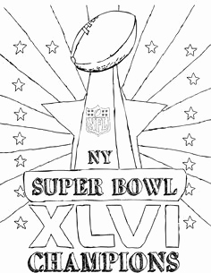 236x305 First Super Bowl Football Game Coloring Page Superbowl Coloring