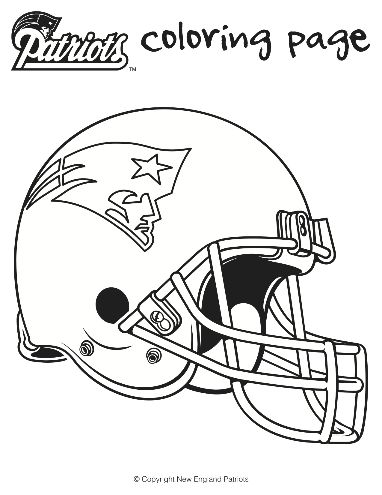 1275x1650 Super Bowl Coloring Page In Patriots Pages