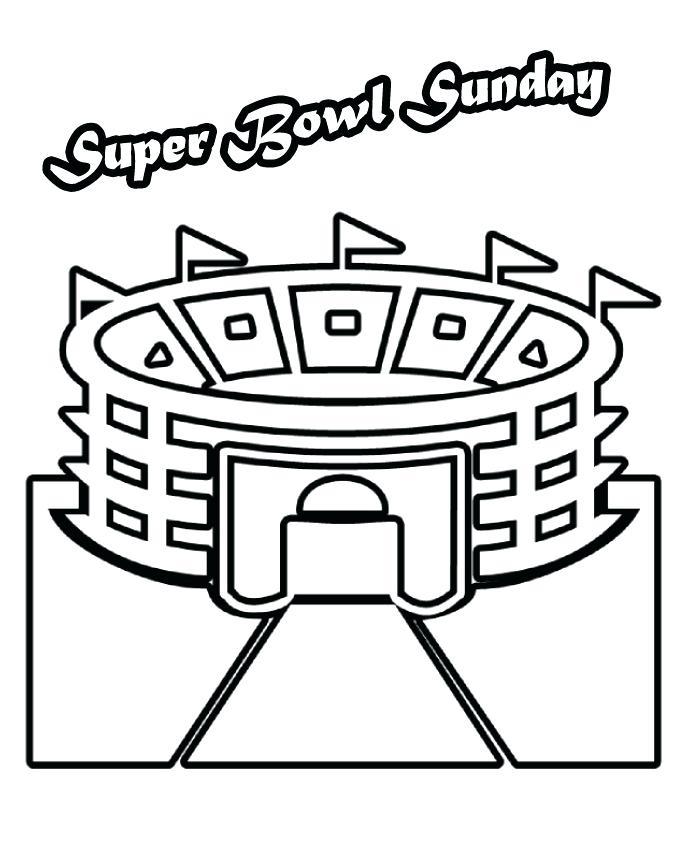 685x852 Super Bowl Coloring Pages Super Bowl Coloring Page