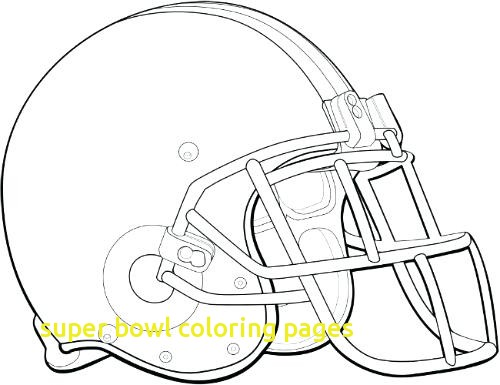 500x385 Super Bowl Coloring Pages With Good Super Bowl Coloring Pages