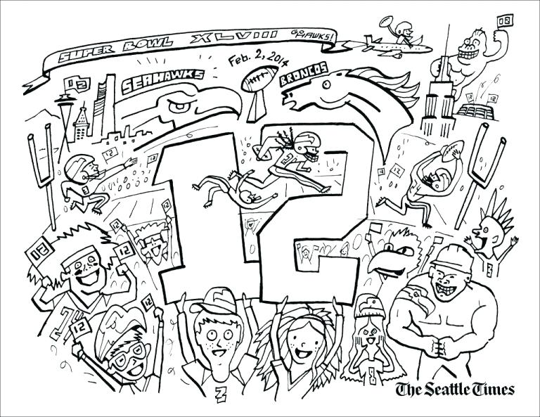 768x593 Superbowl Coloring Pages Super Bowl Coloring Pages Fresh Page