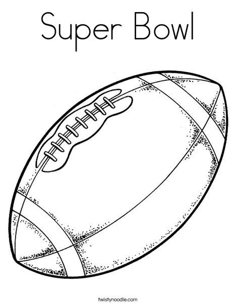 468x605 Super Bowl Coloring Pages Super Bowl Coloring Page Png
