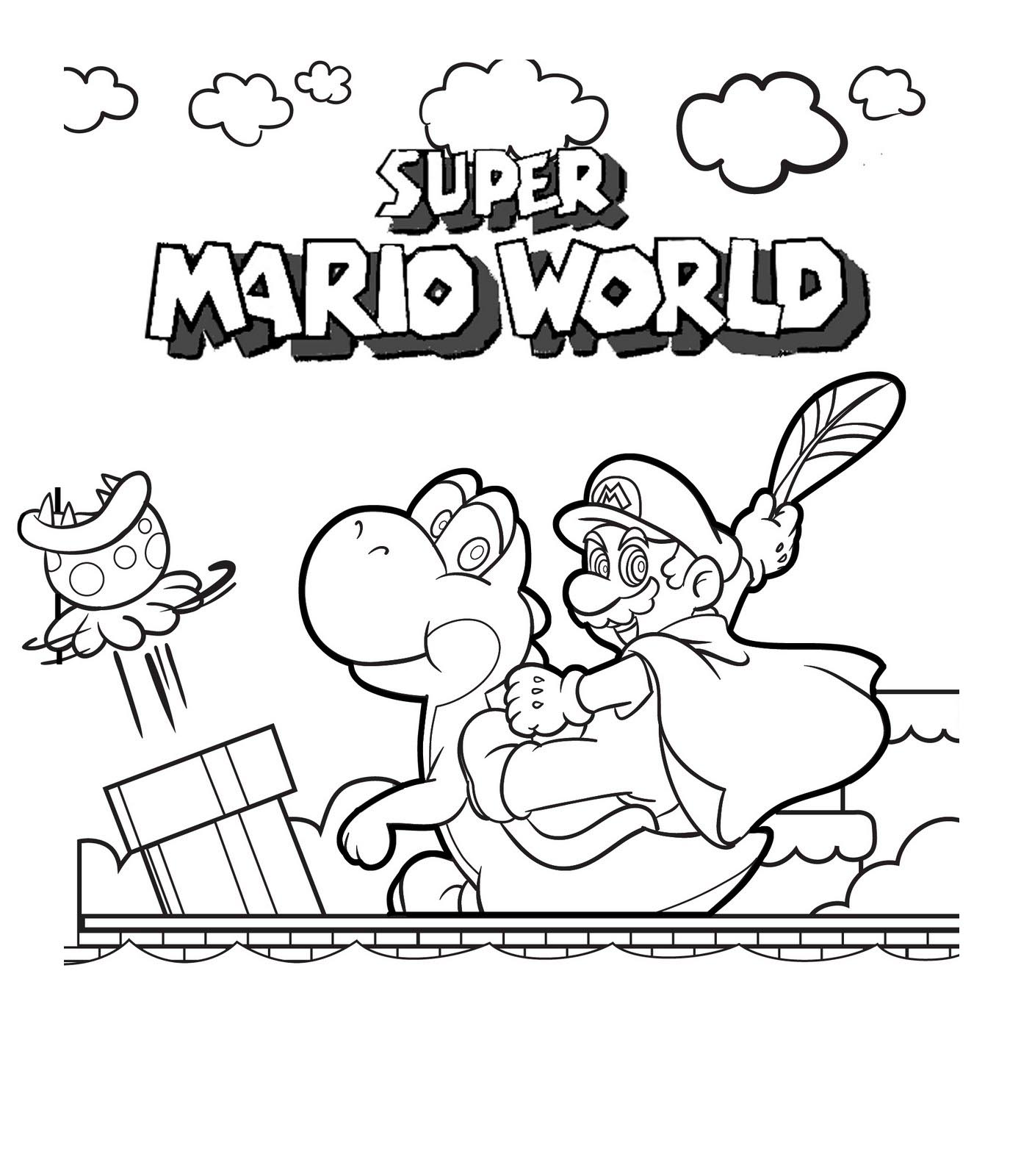 1375x1600 Super Coloring Pages