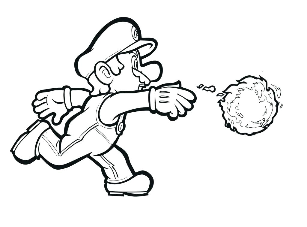 1024x756 Super Mario Coloring Pages Online Super Coloring Pages For Kids