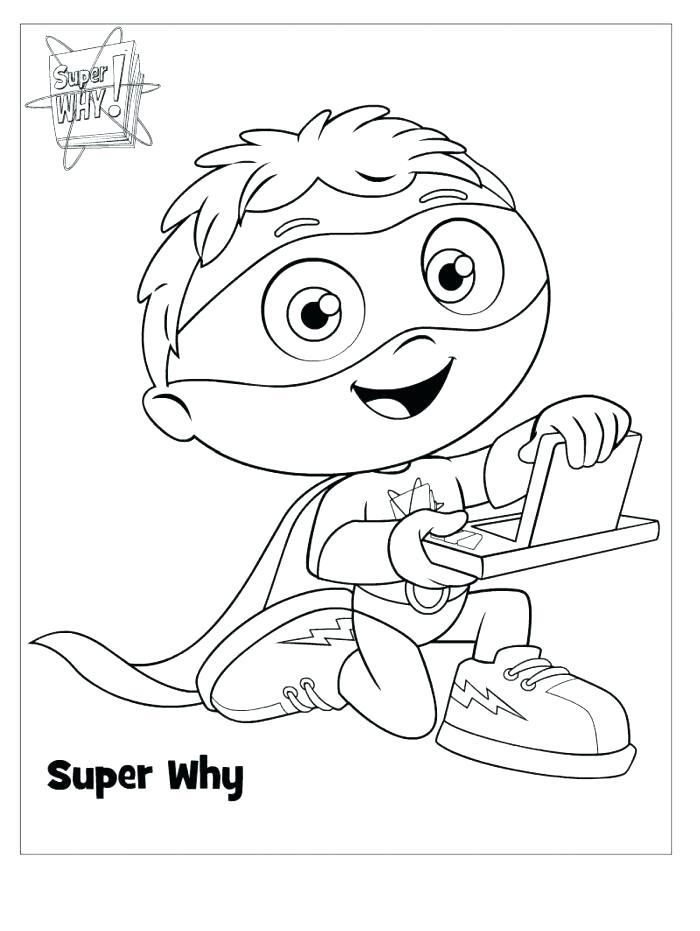 700x931 Super Why Coloring Sheets Super Wonder Red Skates Super Coloring