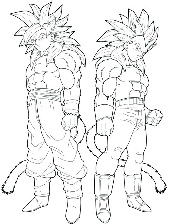 564x740 Goku Coloring Pages Printable Coloring Super Coloring Pages Dragon
