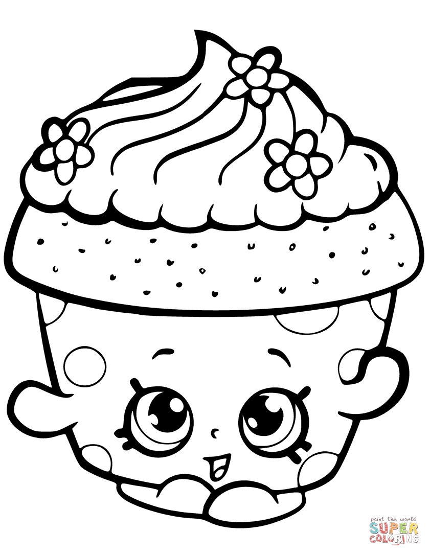 841x1088 Shopkins Printable Coloring Pages Free